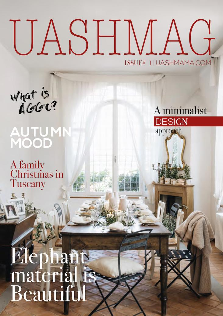 Katalog UASHMAG ISSUE 1 Herbst/Winter 2017/18
