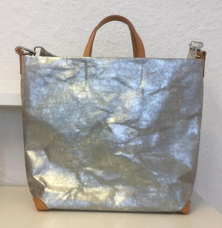 ALLE BAG NUVOLA GREY/SILVER