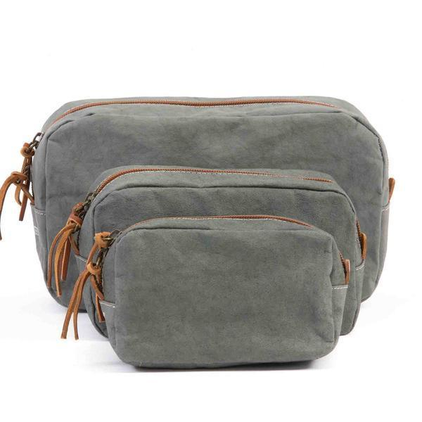 BEAUTY CASE MEDIUM DARK GREY