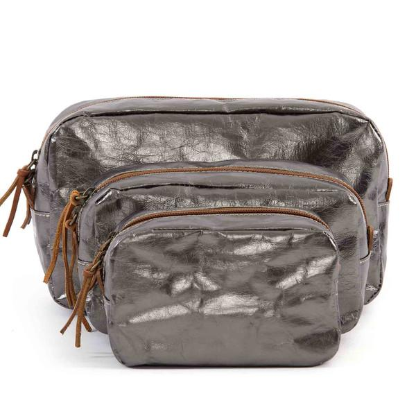 BEAUTY CASE SMALL METALLIC PELTRO