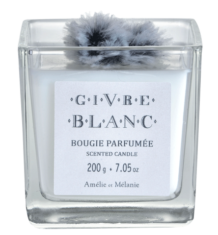 GIVRE BLANC BOUGIE 200g