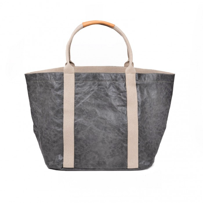GIULIA BAG LARGE LUX DARK GREY