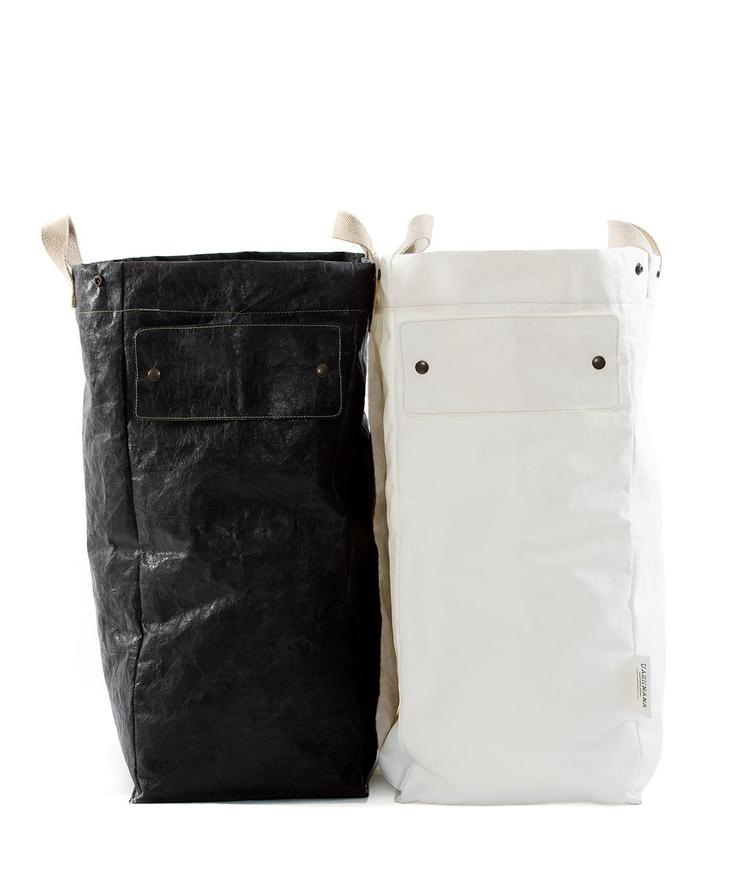 LAUNDRY BAG LUX BLACK