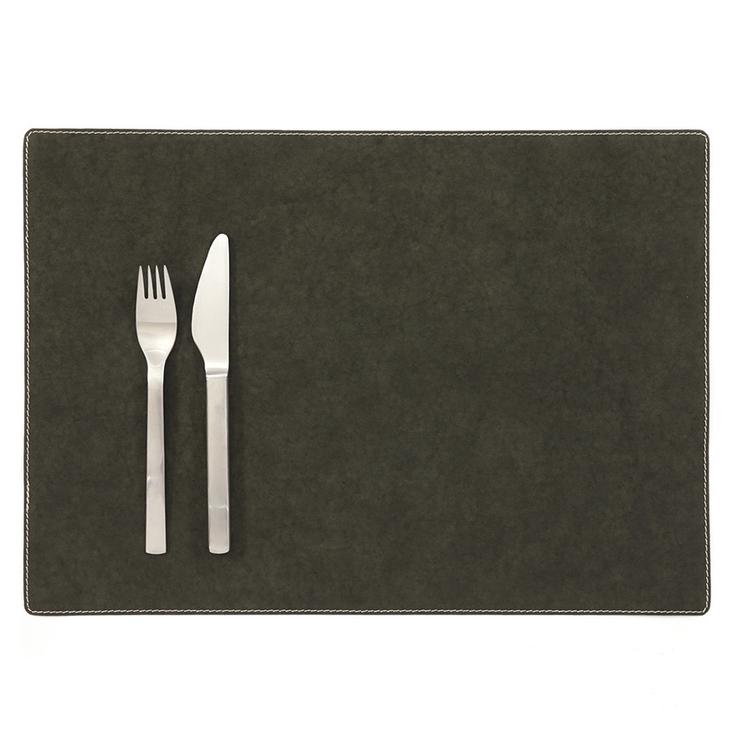 PLACEMAT DARK GREEN