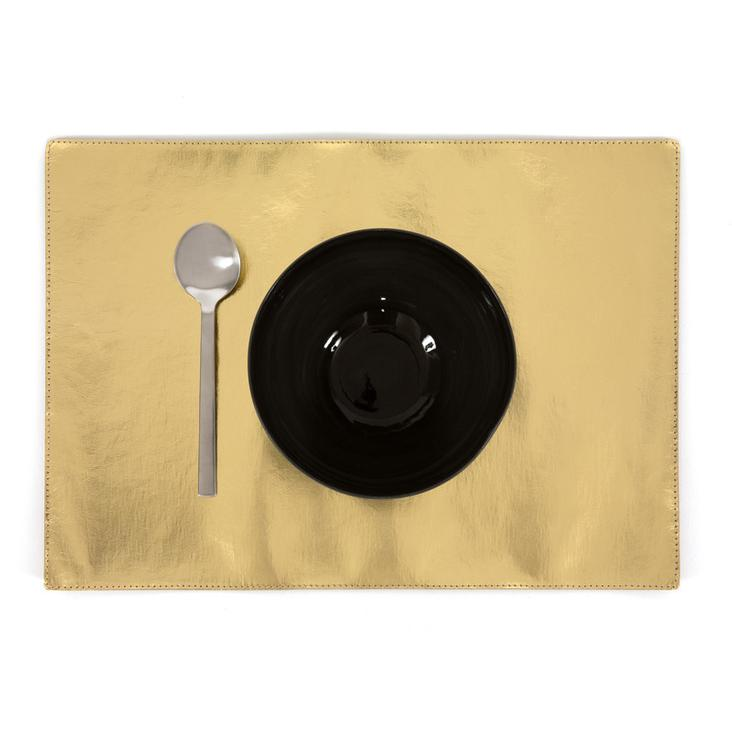 PLACEMAT METALLIC GOLD - 0