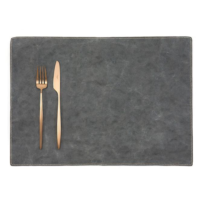 PLACEMAT TEC DARK GREY